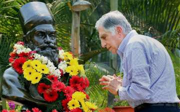 Rata Tata pays homage to Tata Steel founder J N...