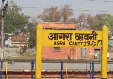 Twin explosions near Agra Cantt railway station,...