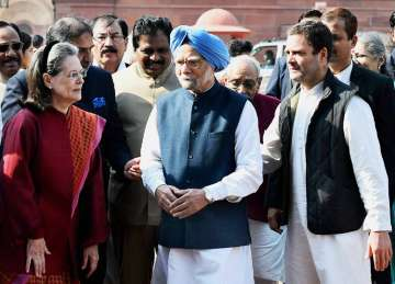 A strong Congress in Opposition is essential for...