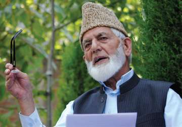 File pic of Syed Ali Shah Geelani - India TV