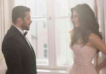 Salman Khan and Katrina Kaif in Tiger Zinda Hai