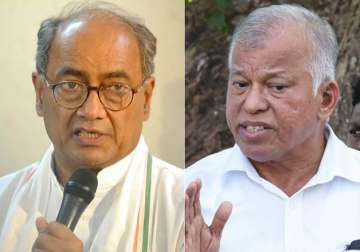 Digvijaya Singh and Goa Cong chief Luizinho...