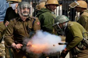 Grenade, Jammu and Kashmir, Spicy, Protests