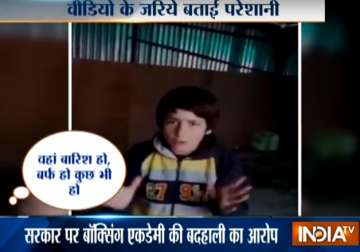 8-year-old kickboxing gold medallist slams J&K...
