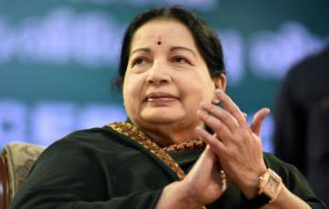 Jaya admitted to hospital after being...