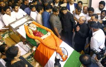 Body of Jayalalithaa