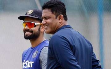 Anil Kumble's term ends with the conclusion of...