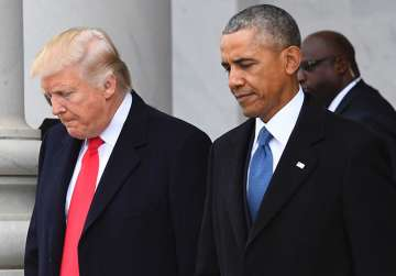 Trump accuses Obama of tapping his phones - India...