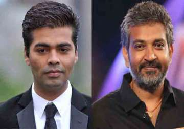 Karan Johar, S S Rajamouli - India TV