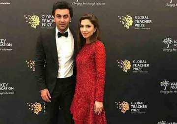 Ranbir Kapoor and Mahira Khan video
