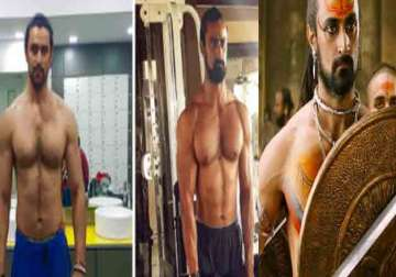 Kunal Kapoor transformation for Veeram