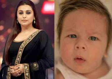 Rani Mukerji, Taimur Ali Khan - India TV