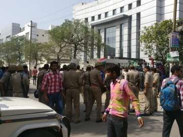 Tricolour row: As protests continue, Oppo halts...