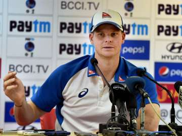 Smith was today caught on camera abusing Murali...