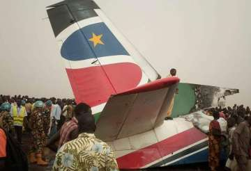 Plane crashes in South Sudan; all 49 passengers,...