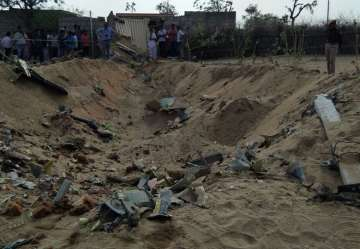 IAF's Sukhoi aircraft crashes in Rajasthan's...