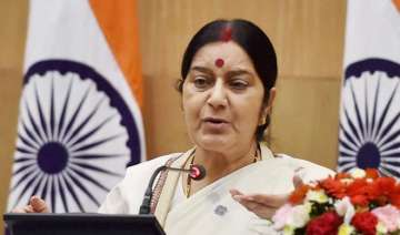 Sushma Swaraj comes to rescue of Indian wife...