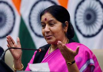 Indian Woman, Sushma Swaraj, Report, Frankfurt