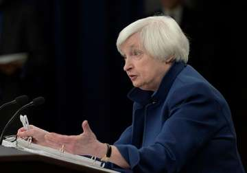 Federal Reserve Chair Janet Yellen speaks during...