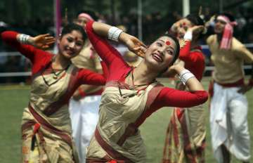 Breath-taking pictures of Assam's most colourful f