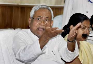 Nitish Kumar charged the government with going...