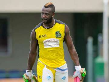File pic - West Indies all-rounder Andre Russell...