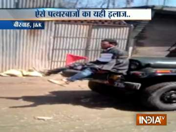 Kashmiri youth tied to Army jeep as 'human...