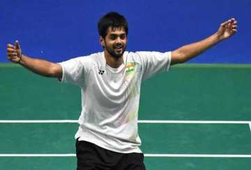 B Praneeth beats Kidambi Srikanth to win...