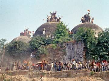 Chronology of events in 1992 Babri Masjid...