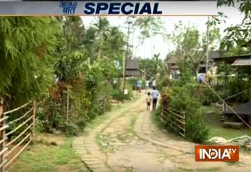Mawlynnong in Meghalaya is Asia's cleanest...