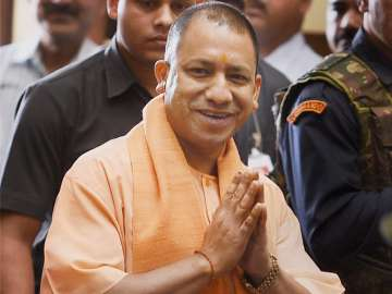 File pic of UP Chief Minister Adityanath - India...