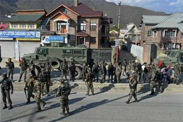 Militants today attacked a CRPF convoy in...