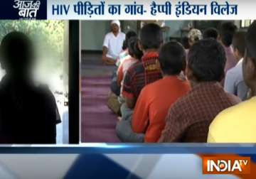 'Happy Indian Village', a paradise for HIV+...