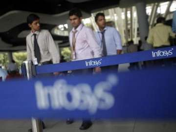 Infosys Q4 net profit grows marginally to Rs...