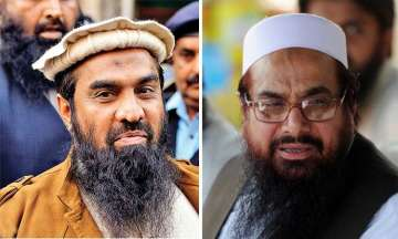 Zaki-ur-Rehman Lakhvi and Hafiz Saeed
