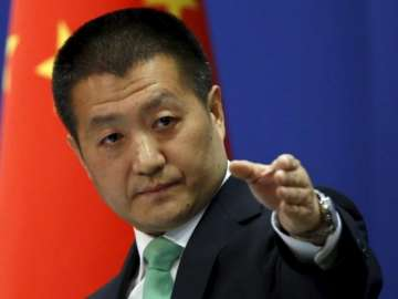 File pic of Chinese Foreign Ministry spokesman Lu...