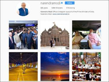 PM Modi becomes world's most followed leader on...