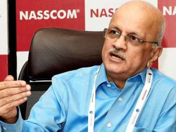 Nasscom president R Chandrashekhar - India TV