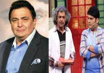 Rishi Kapoor and Sunil Grover