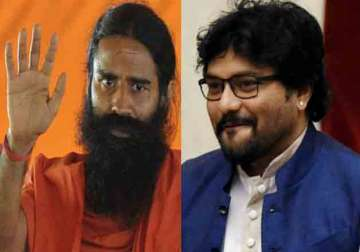 Babul Supriyo challenges Baba Ramdev for push-up...