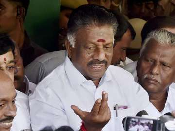 File pic of O Panneerselvam - India TV