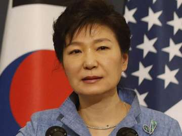 File pic of former South Korean President Park...