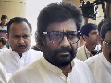 File pic of Shiv Sena MP Ravindra Gaikwad -...