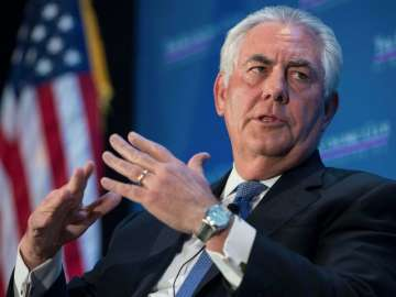 File pic of Secretary of State Rex Tillerson -...
