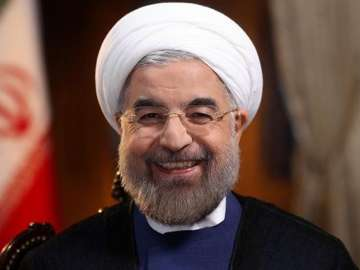 File pic of Iran President Hassan Rouhani - India...