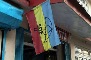Sikkim Democratic Front Flag
