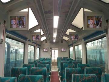 Suresh Prabhu launches new rail coach with glass...