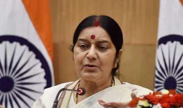 Sushma Swaraj, Indian Embassy, Sweden, Stockholm