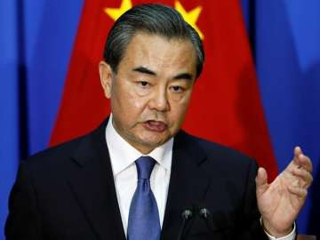 File pic of China's Foreign Minister Wang Yi -...