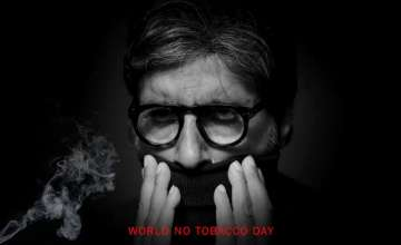 World No Tobacco Day: Amitabh Bachchan has a...